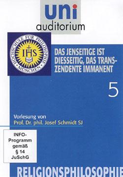 Religionsphilosophie 5 - Ein Unterrichtsmedium auf DVD