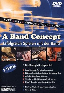 A Band Concept [2 DVDs] - Ein Unterrichtsmedium auf DVD