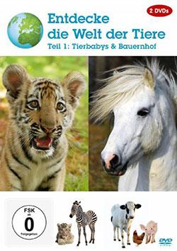 Entdecke die Welt der Tiere - Teil 1: Tierbabys & Bauernhof  [2 DVDS] - Ein Unterrichtsmedium auf DVD