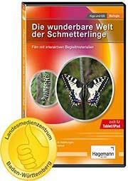 Die wunderbare Welt der Schmetterlinge - Ein Unterrichtsmedium auf DVD