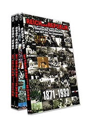 Reihe: Deutsche Geschichte von 1871 bis zur Gegenwart (3 DVDs) - Ein Unterrichtsmedium auf DVD