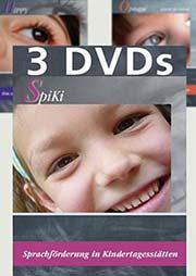 Frühförderung: HIPPY, SpiKi, Opstapje (3 DVDs) - Ein Unterrichtsmedium auf DVD
