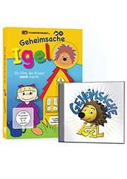 Geheimsache Igel / Bundle: (CD) und (DVD) - Ein Unterrichtsmedium auf DVD