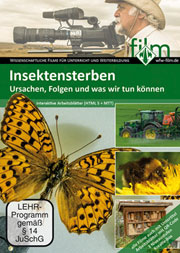Insektensterben - Ein Unterrichtsmedium auf DVD