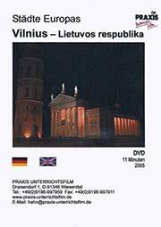 Vilnius - Lietuvos respublika - Ein Unterrichtsmedium auf DVD