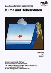 Klima und H�henstufen - Ein Unterrichtsmedium auf DVD