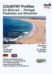 Ein Blick auf? Portugal, Postkarten aus Slowenien - Ein Unterrichtsmedium auf DVD