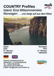 Island: Eine Mittsommerreise, Norwegen - und steigt auf aus dem Meer - Ein Unterrichtsmedium auf DVD