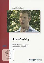 StimmCoaching - Ein Unterrichtsmedium auf DVD
