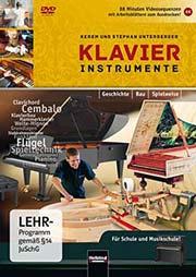 Klavierinstrumente - Ein Unterrichtsmedium auf DVD