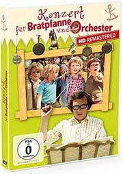 Konzert für Bratpfanne und Orchester - Ein Unterrichtsmedium auf DVD