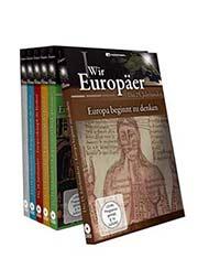 Wir Europäer - vom 15. bis zum 20. Jahrhundert - Ein Unterrichtsmedium auf DVD