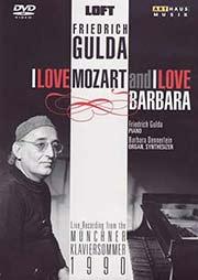 Friedrich Gulda - I Love Mozart and I Love Barbara - Ein Unterrichtsmedium auf DVD