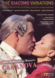 John Malkovich as Mozart's Casanova - Ein Unterrichtsmedium auf DVD