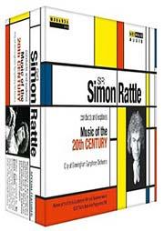 Sir Simon Rattle dirigiert und erkundet Musik des 20. Jahrhunderts [5 DVDs] - Ein Unterrichtsmedium auf DVD
