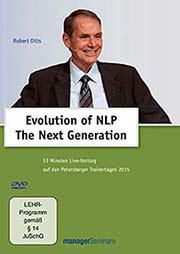 Robert Dilts: Evolution of NLP - Ein Unterrichtsmedium auf DVD