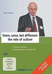 Geert Hofstede: Same, same, but different - Ein Unterrichtsmedium auf DVD