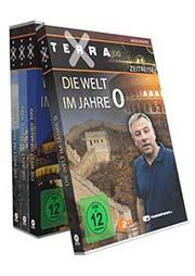 Reihe: Terra X - Zeitreise (4 DVDs) - Ein Unterrichtsmedium auf DVD