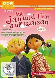Mit Jan und Tini auf Reisen Box 5 [2 DVDs] - Ein Unterrichtsmedium auf DVD