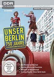 Unser Berlin - 750 Jahre [2 DVDs] - Ein Unterrichtsmedium auf DVD