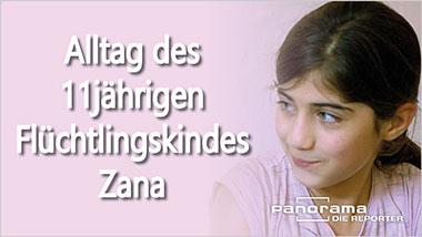 Alltag des 11jährigen Flüchtlingskindes Zana - Ein Unterrichtsmedium auf DVD