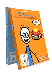Tom und das Erdbeermarmeladebrot mit Honig - Teil I und II [2 DVDs] - Ein Unterrichtsmedium auf DVD