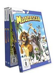 Reihe: Madagascar (3 DVDs) - Ein Unterrichtsmedium auf DVD