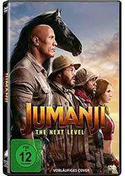 Jumanji: The next Level - Ein Unterrichtsmedium auf DVD