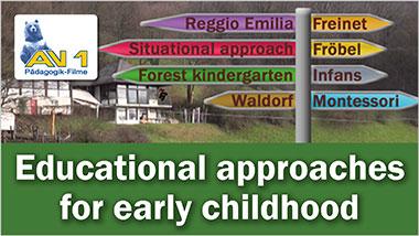 Educational approaches for early childhood - Ein Unterrichtsmedium auf DVD
