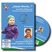 Sprachliche Bildung für Kinder von 0 - 6 Jahren - Ein Unterrichtsmedium auf DVD