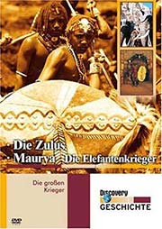Die großen Krieger: Die Zulus / Maurya - Die Elefantenkrieger - Ein Unterrichtsmedium auf DVD