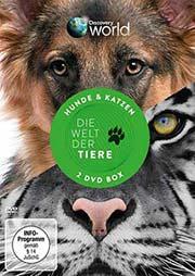 Welt der Tiere - Hunde und Katzen [2 DVDs] - Ein Unterrichtsmedium auf DVD