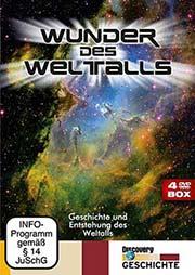 Reihe: Wunder des Weltalls (4 DVDs) - Ein Unterrichtsmedium auf DVD