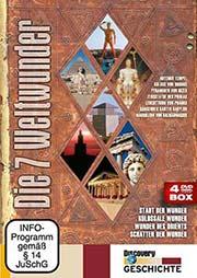 Reihe: Die 7 Weltwunder (4 DVDs) - Ein Unterrichtsmedium auf DVD