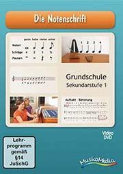 Die Notenschrift - Ein Unterrichtsmedium auf DVD