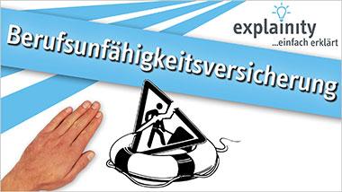 explainity� Erkl�rvideo - Berufsunf�higkeitsversicherung einfach erkl�rt - Ein Unterrichtsmedium auf DVD
