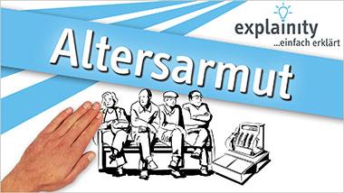 explainity® Erklärvideo - Altersarmut einfach erklärt - Ein Unterrichtsmedium auf DVD
