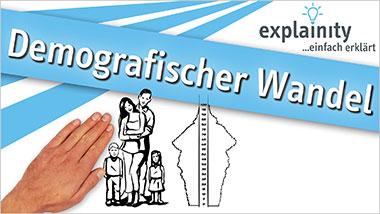 explainity® Erklärvideo - Demografischer Wandel einfach erklärt - Ein Unterrichtsmedium auf DVD