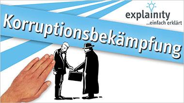 explainity® Erklärvideo - Korruptionsbekämpfung einfach erklärt - Ein Unterrichtsmedium auf DVD