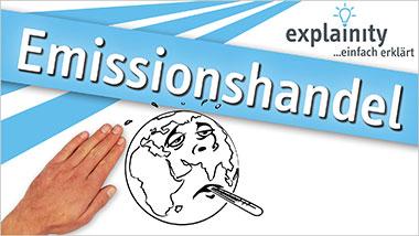explainity® Erklärvideo - Emissionshandel einfach erklärt - Ein Unterrichtsmedium auf DVD