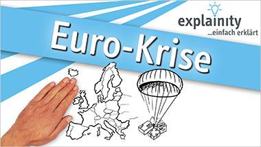 explainity® Erklärvideo - Euro-Krise einfach erklärt - Ein Unterrichtsmedium auf DVD