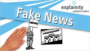 explainity® Erklärvideo - Fake News einfach erklärt - Ein Unterrichtsmedium auf DVD