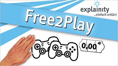 explainity� Erkl�rvideo - Free2Play einfach erkl�rt - Ein Unterrichtsmedium auf DVD