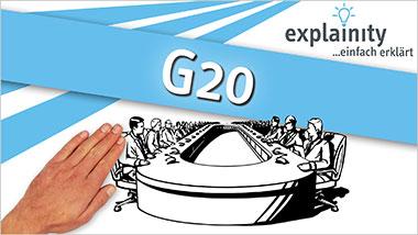 explainity® Erklärvideo - G20 einfach erklärt - Ein Unterrichtsmedium auf DVD