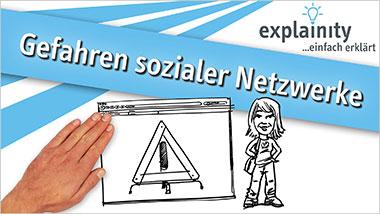 explainity® Erklärvideo - Gefahren sozialer Netzwerke einfach erklärt - Ein Unterrichtsmedium auf DVD