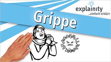 explainity® Erklärvideo - Grippe einfach erklärt - Ein Unterrichtsmedium auf DVD