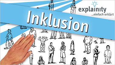 explainity® Erklärvideo - Inklusion einfach erklärt - Ein Unterrichtsmedium auf DVD
