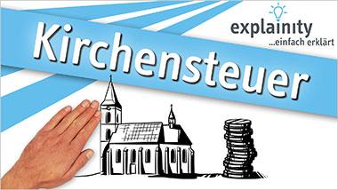 explainity® Erklärvideo - Kirchensteuer einfach erklärt - Ein Unterrichtsmedium auf DVD