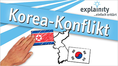 explainity® Erklärvideo - Korea-Konflikt einfach erklärt - Ein Unterrichtsmedium auf DVD