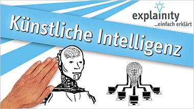 explainity® Erklärvideo - Künstliche Intelligenz einfach erklärt - Ein Unterrichtsmedium auf DVD